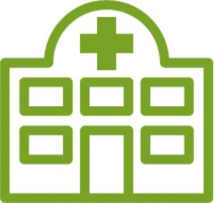 icoon ziekenhuis
