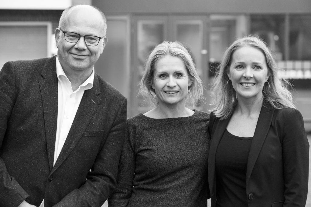 Henk van Katwijk, Mirjam Spruit en Wendy Oostveen-Kouwenhoven